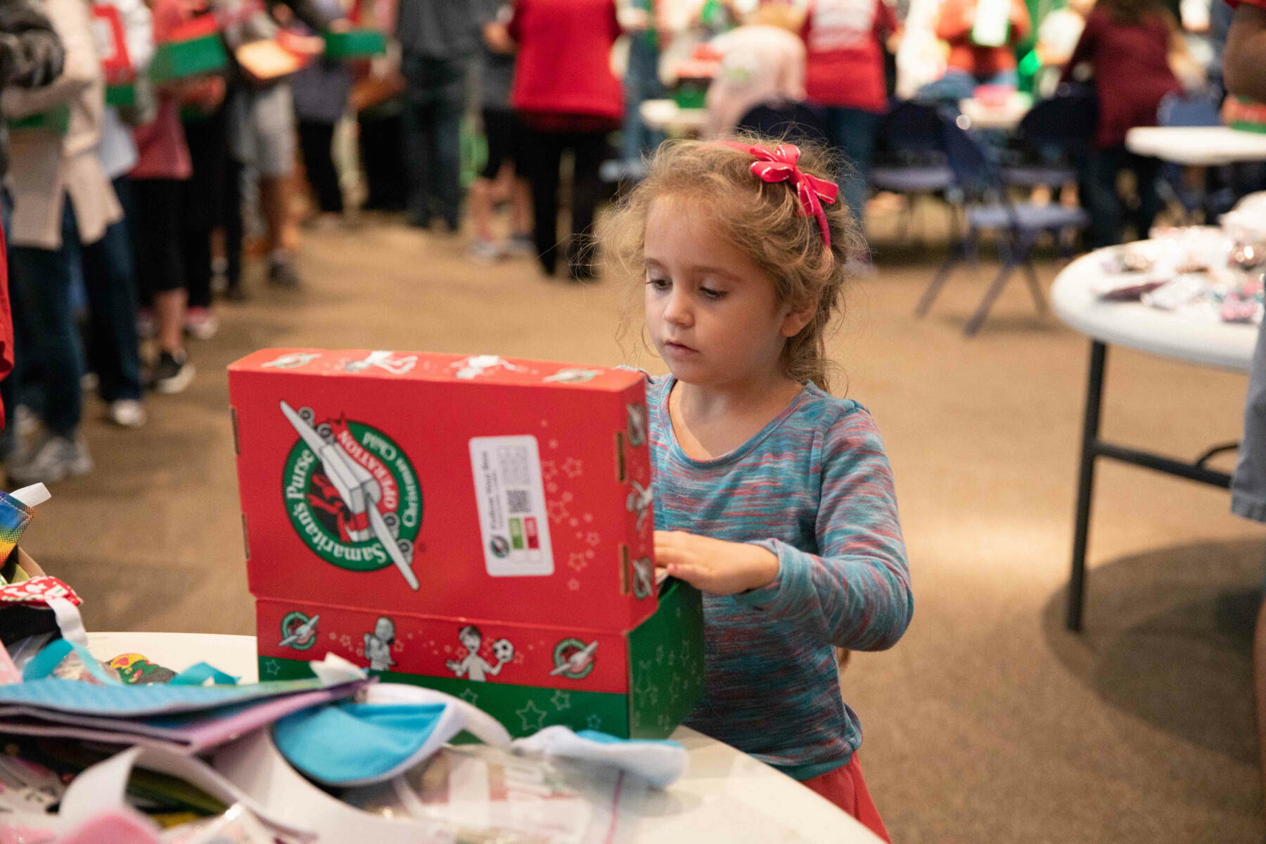 Operation Christmas Child: Packing Parties