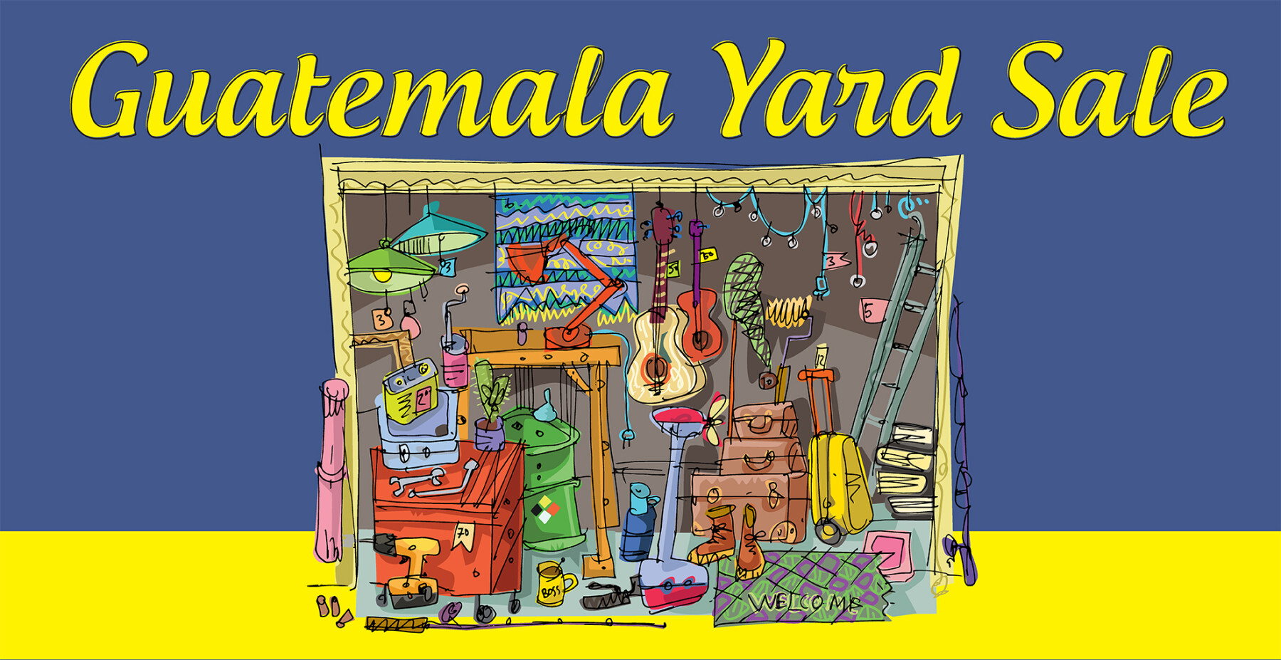 Guatemala Yard Sale